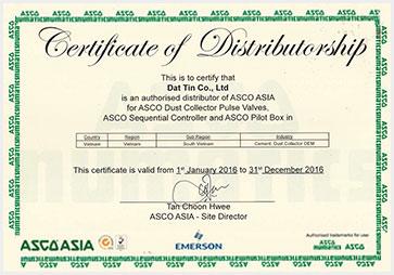 Chung nhan ASCO Emersion VN