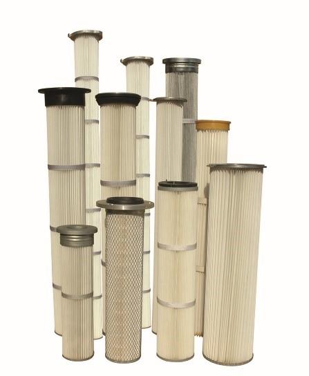 túi lọc bụi dạng xếp - ống lọc