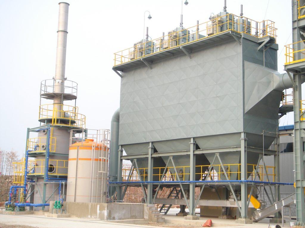 Xử lý bụi công nghiệp bằng hệ thống lọc bụi tĩnh điện