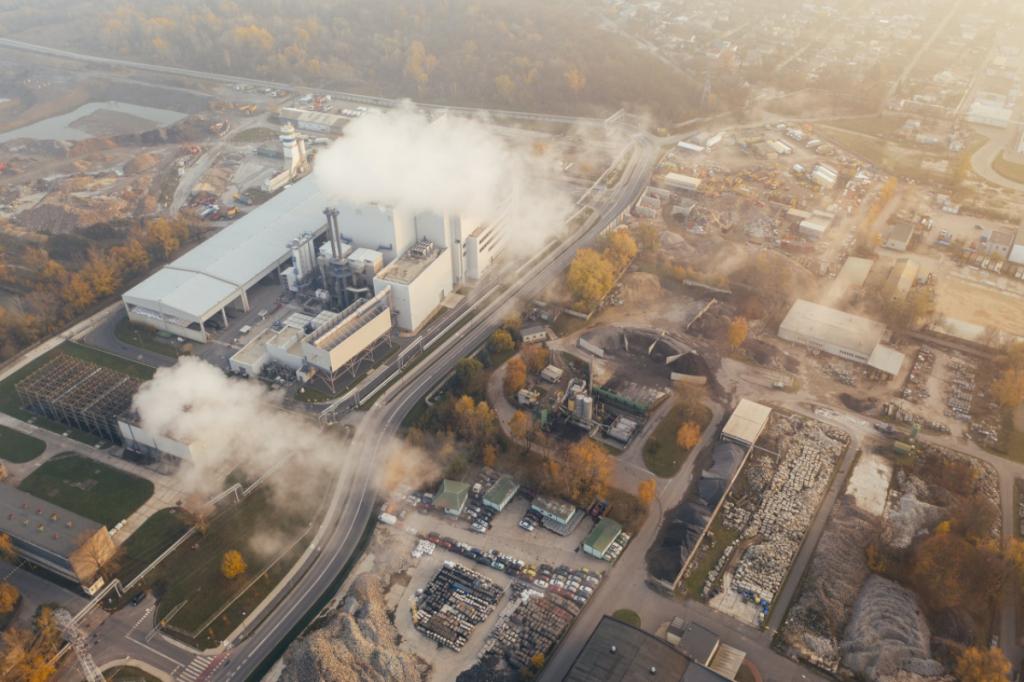 Tác hại của khí thải tại lò hơi