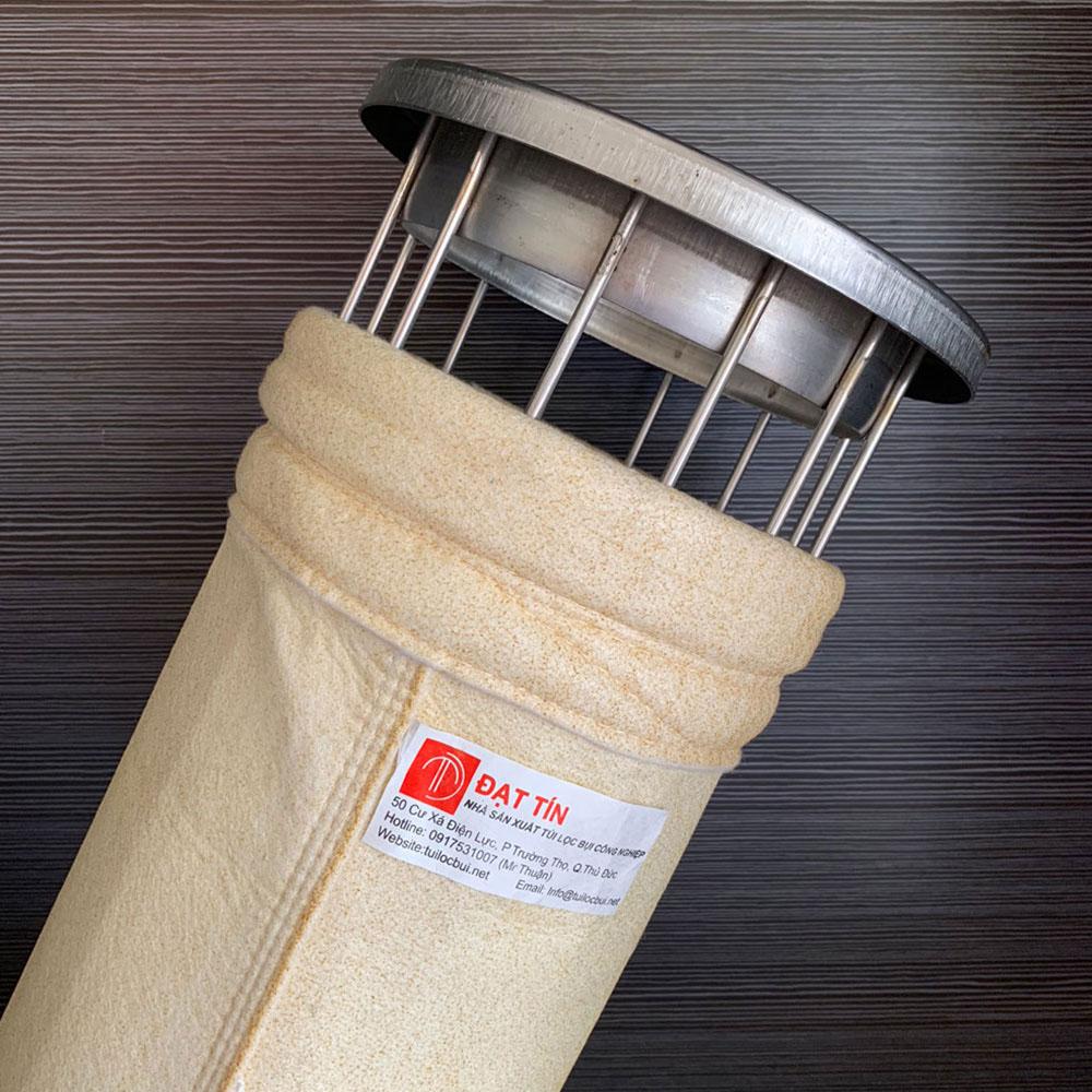 Túi lọc bụi chịu nhiệt cho nhà máy có nhiệt độ cao