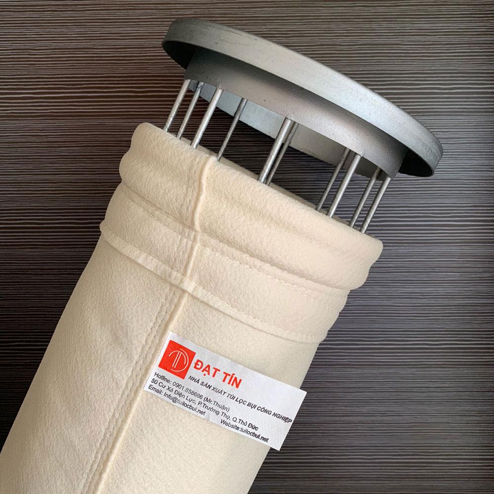 Vải PPS cho túi lọc bụi xi măng