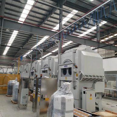 Xử lý bụi công nghiệp tại nhà máy thép
