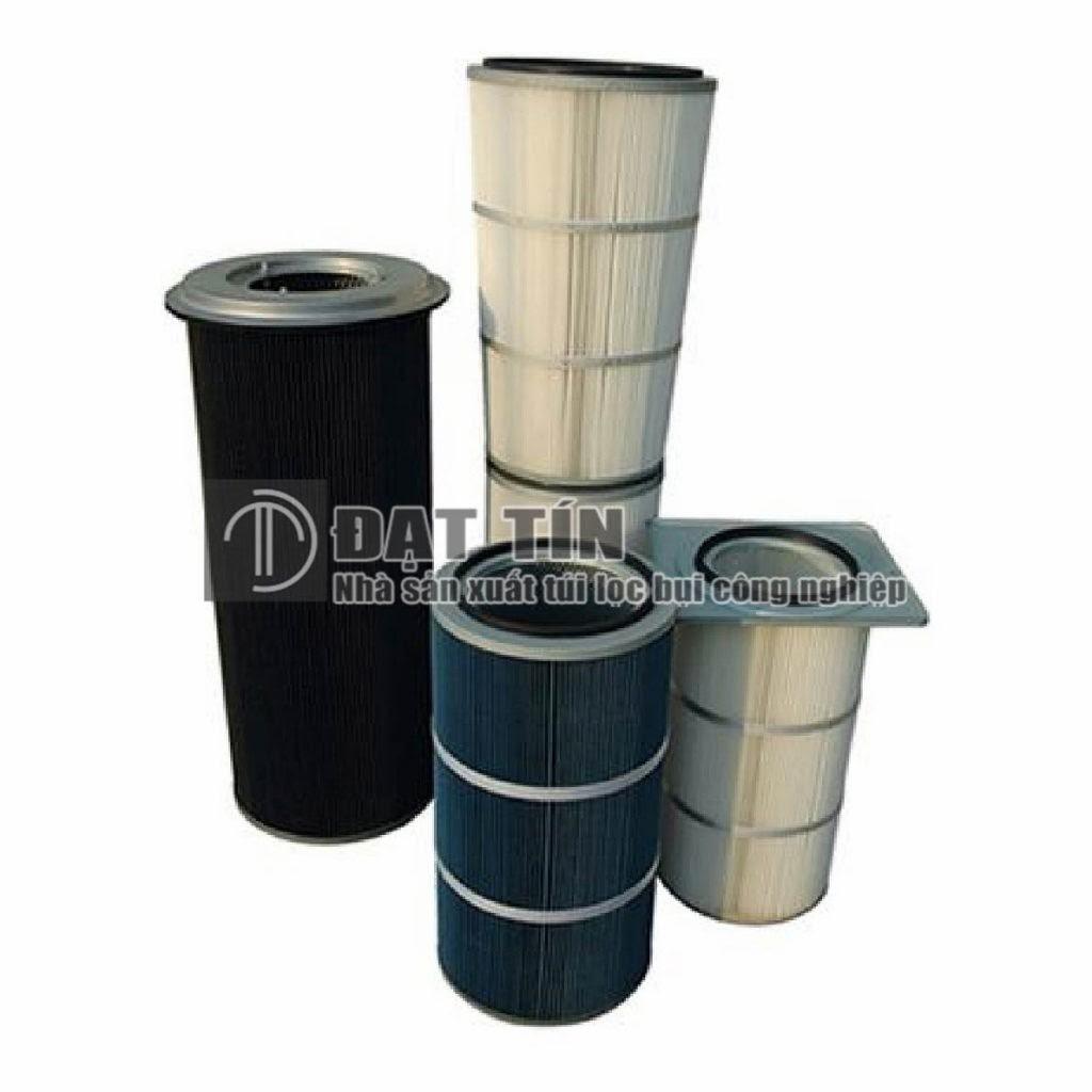 Ống lọc Cartridge Polyester phủ PTFE giúp tăng hiệu suất lọc bụi
