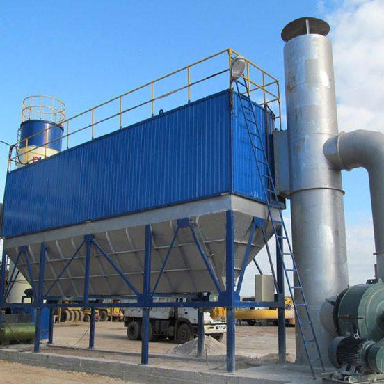 Hệ thống thu hồi bụi rung giũ khí nén - Giải pháp lọc bụi cho nhà máy xi măng