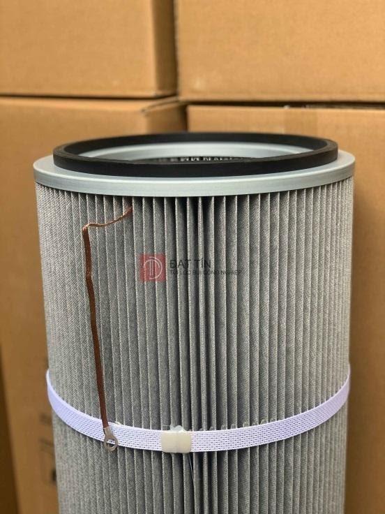 Ống lọc Cartridge chống tĩnh điện cho nhà máy có môi trường nhiệt độ cao