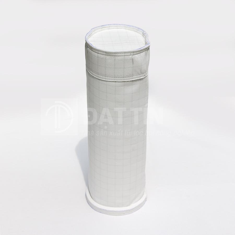 Túi lọc bụi Polyester chống ẩm chống tĩnh điện - Kiểu miệng gắn nỉ