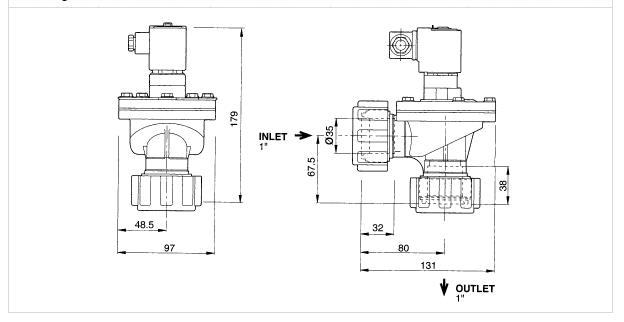 Cấu trúc van rũ bụi TH4825C