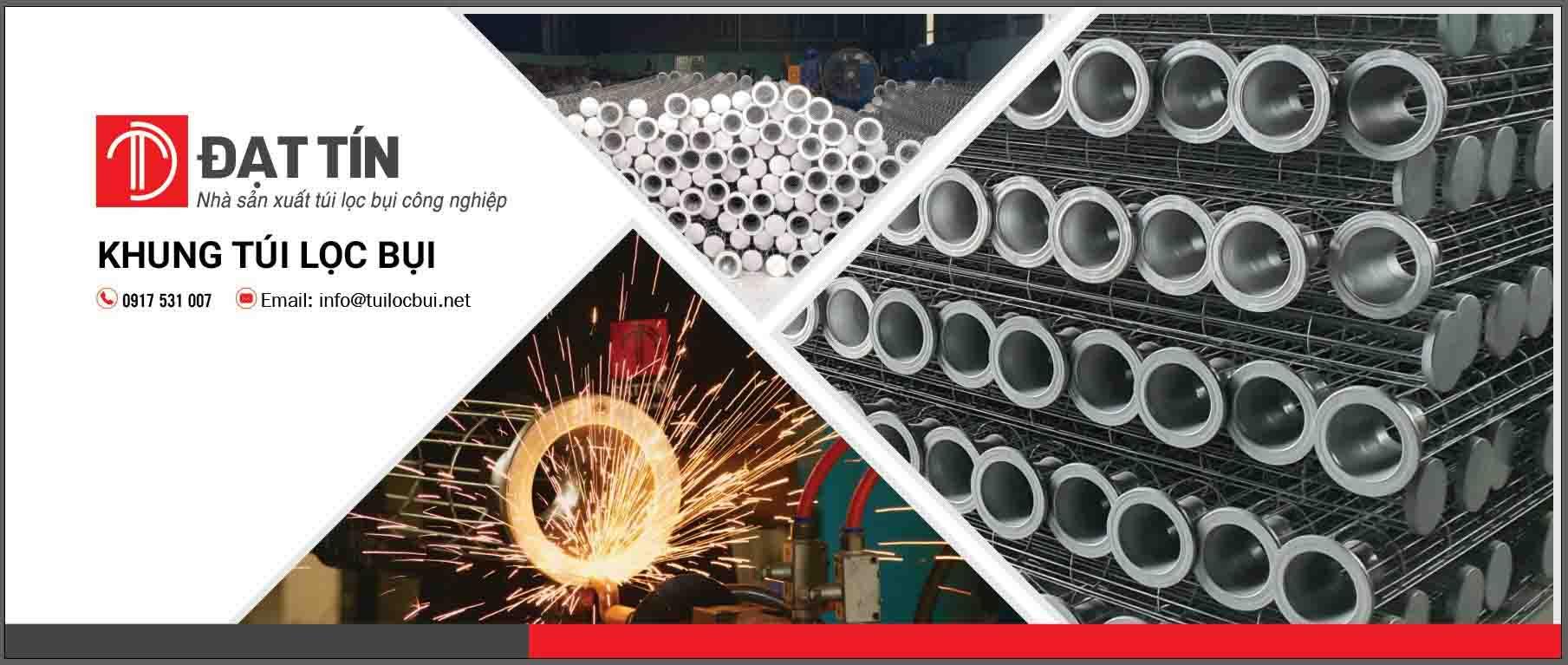 Nhà sản xuất túi lọc bụi công nghiệp Đạt Tín