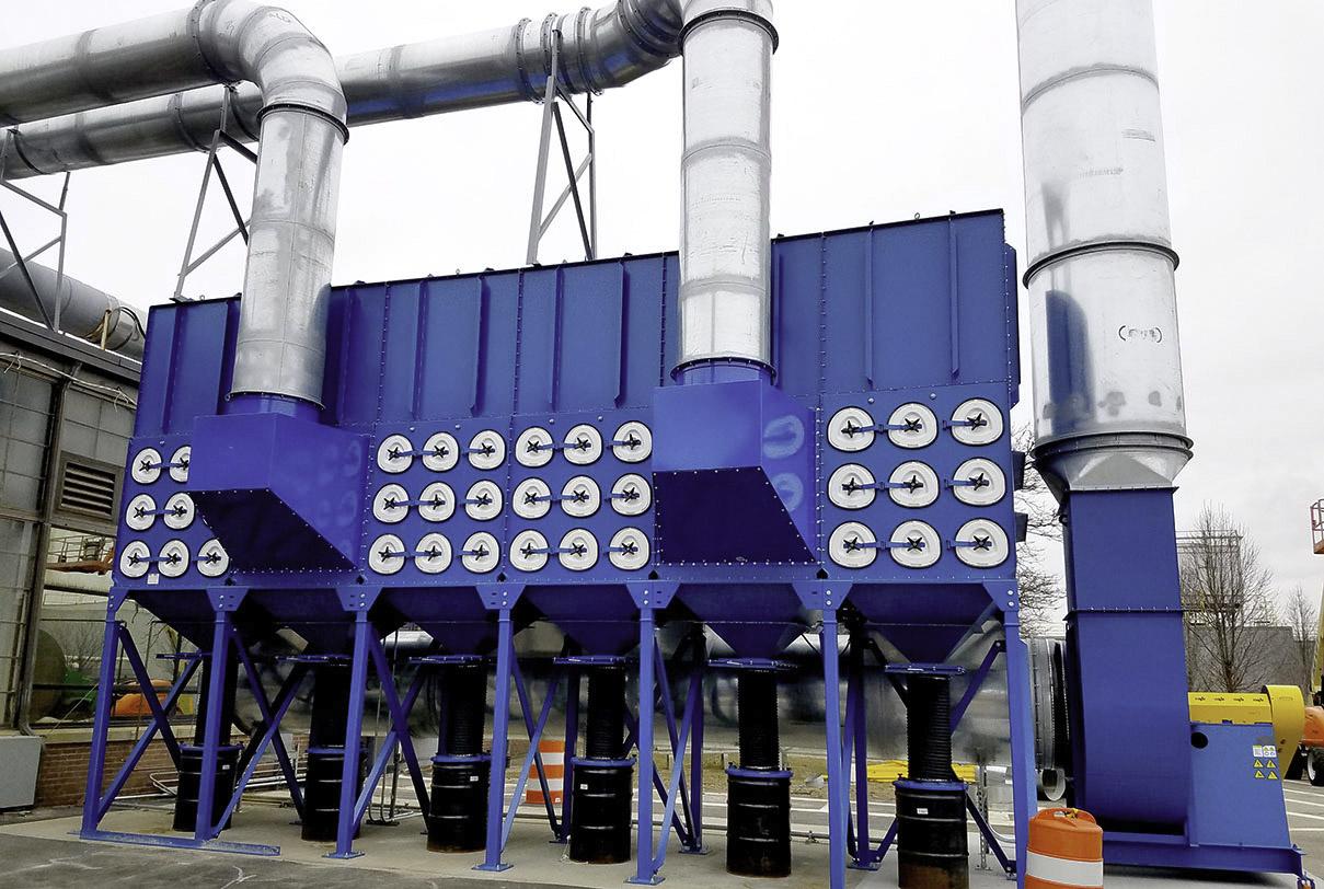Lắp đặt hệ thống lọc bụi công nghiệp chất lượng