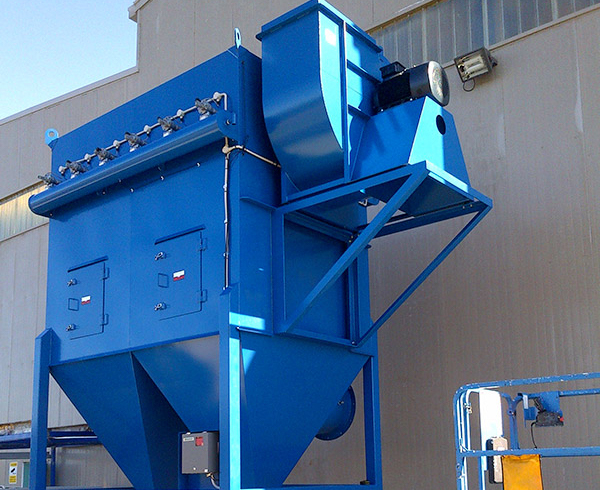 Xử lý bụi công nghiệp bằng phương pháp lọc ướt
