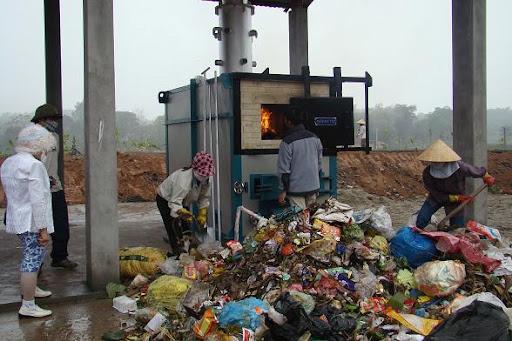 Đặc điểm khí thải lò đốt rác