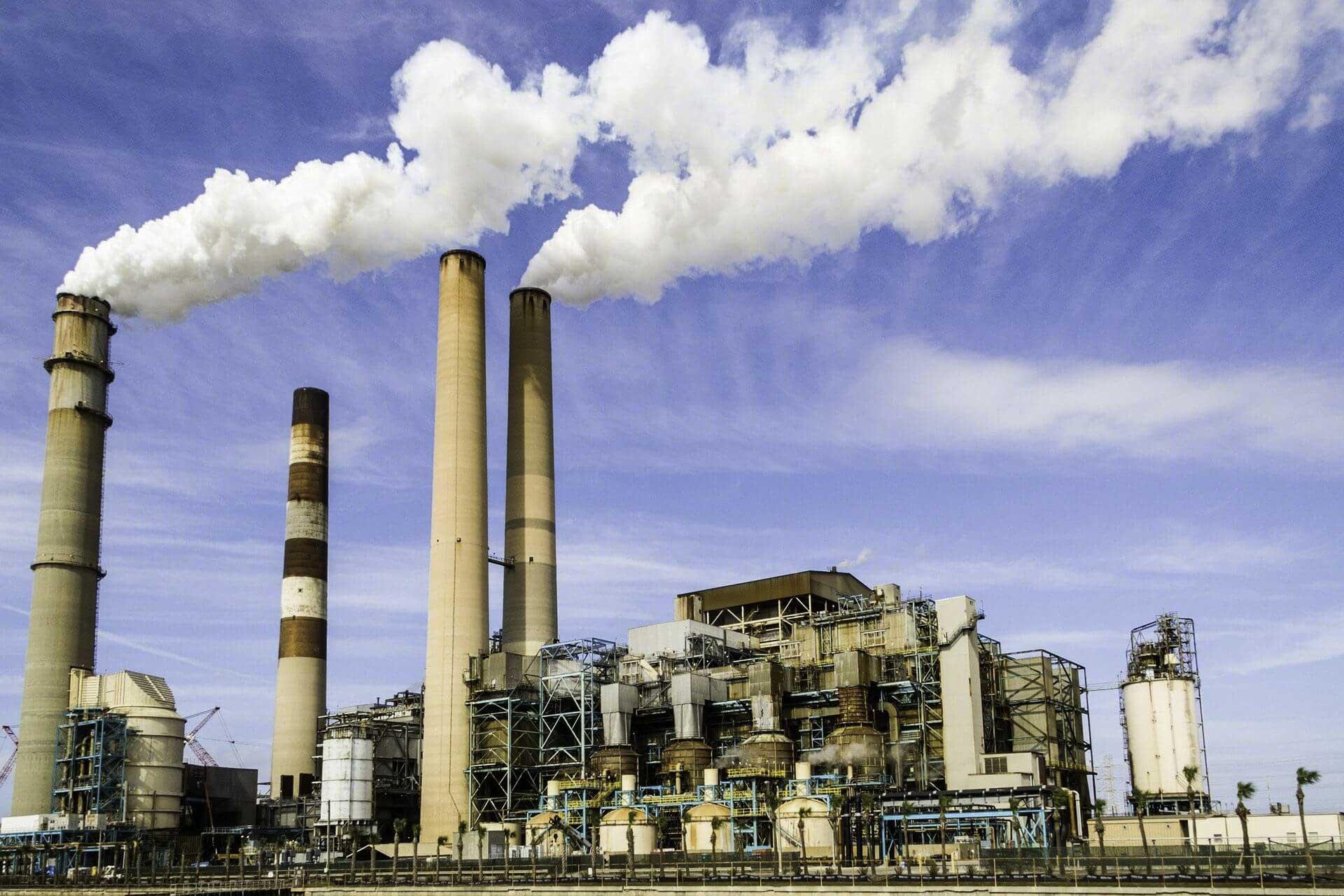 Tình trạng ô nhiễm không khí tại nhà máy