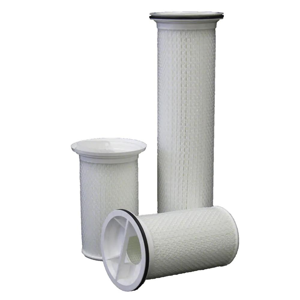 Đặc điểm và kích thước của các hạt hoặc chất rắn cần loại bỏ
